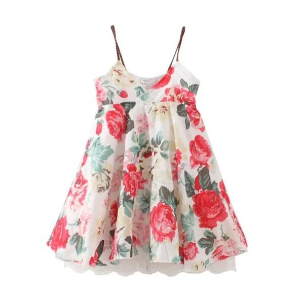 Little Girls Dress - Cream