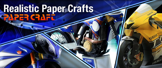 PAPER CRAFT: Realistic Paper Craft