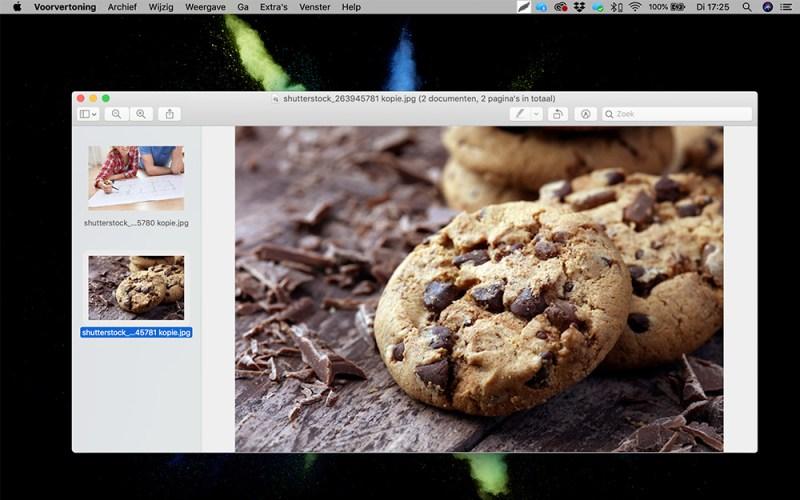 Hoe maak ik foto's webklaar voorbeeld 2
