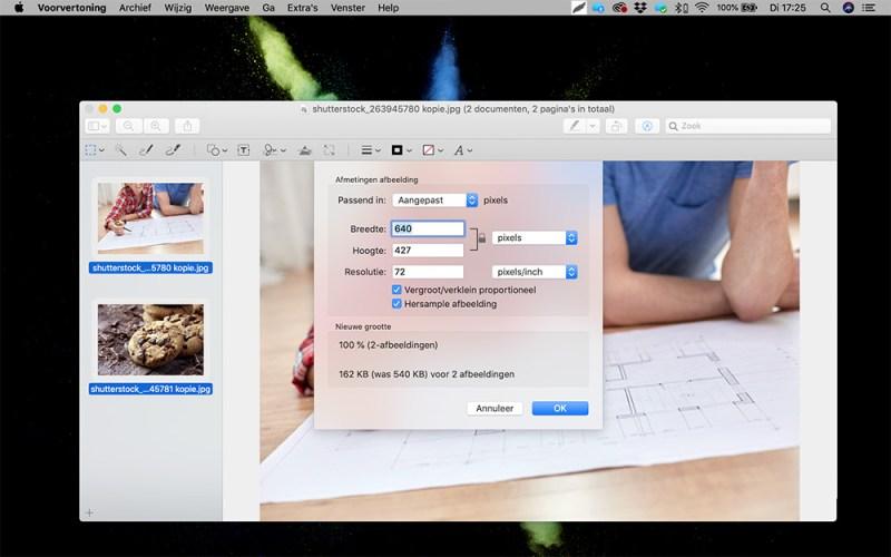 Hoe maak ik foto's webklaar voorbeeld 3
