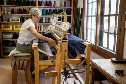 Hilda weaving