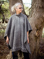 Women's Wool Capes & Wraps « de Weever's Wovens: Wool Clothing from