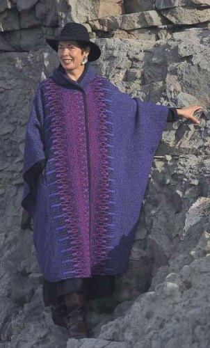 Long cape in Iris