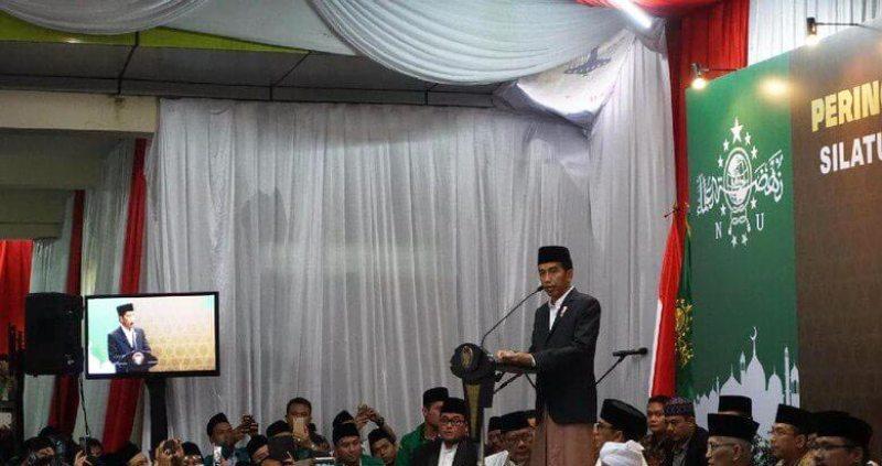 Peringatan Maulid Nabi 2016, Jokowi Merayakan Bersama Ribuan Kader Ansor