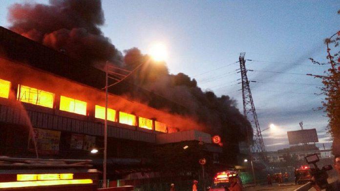 kebakaran pasar senen