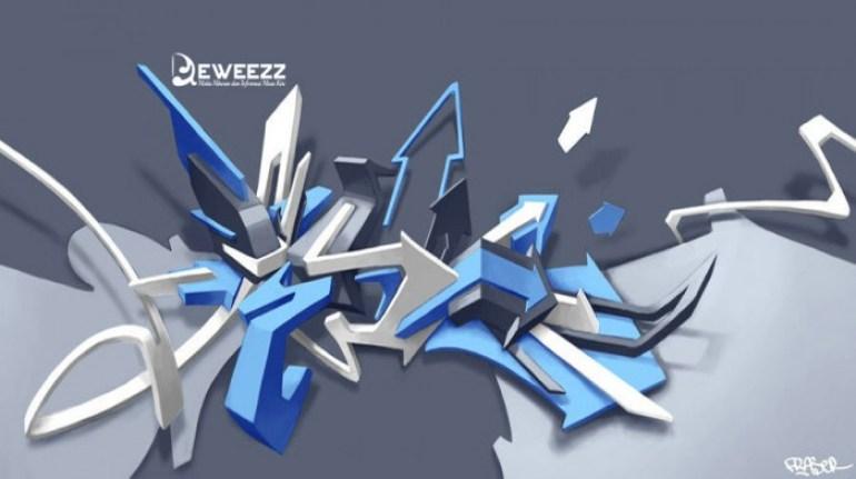 99 Gambar Grafiti Keren 3d Wallpaper Dan Foto Grafiti Tulisan Tangan