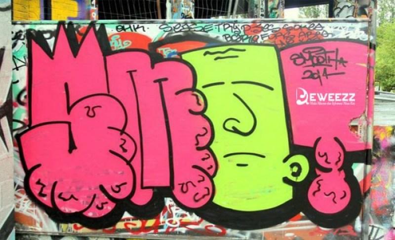 gambar grafiti keren