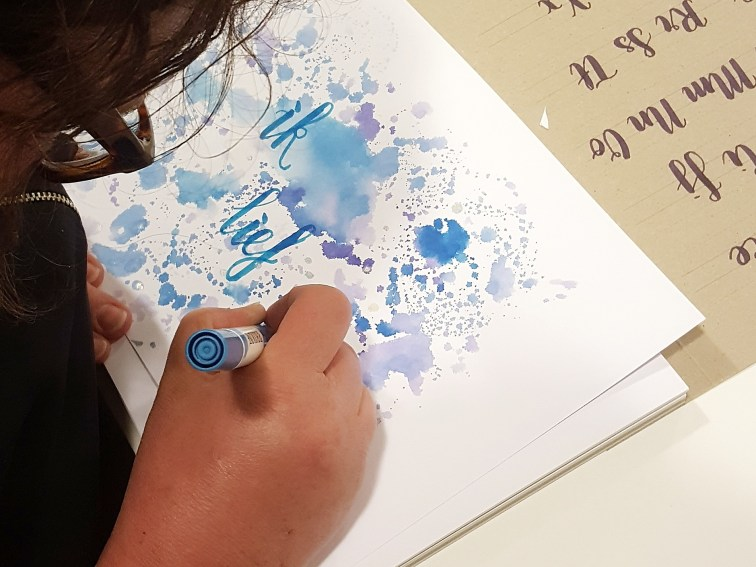 workshop Handlettering Studio Suikerzoet 28