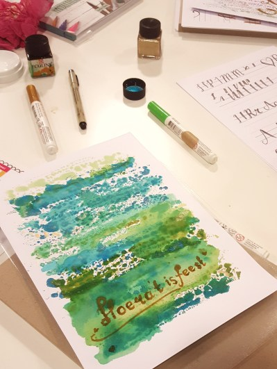 workshop Handlettering Studio Suikerzoet 3