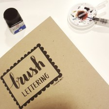 workshop Handlettering Studio Suikerzoet 8