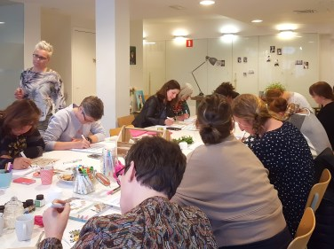 workshop Handlettering Studio Suikerzoet 9