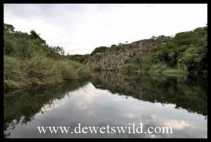 The dam at Blyde Canyon Resort