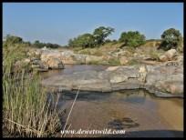 Crossing the Mlambane Spruit on the S114