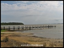Dilapidated jetty at Charters Creek