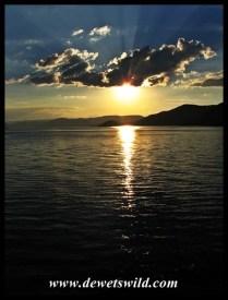 Easter Sunday Sunset over Loskop Dam