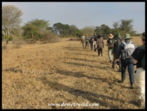 Heading into the Sweni wilderness
