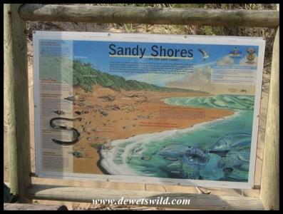 Excellent information boards explain the different habitats