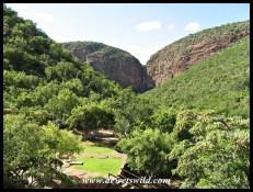 View from Waterfall Safari Lodge