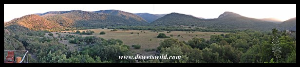 View from Addo's new Nyathi Camp