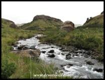 Bushmans River under overcast skies