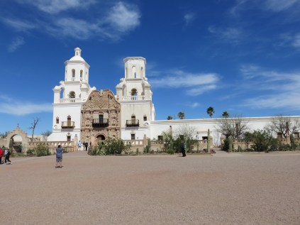 The Mission (the tower on the right still need to be restored)