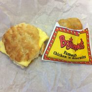 Yummy Bojangle's biscuits!