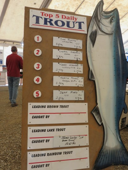 Leader Board - top 5 trout