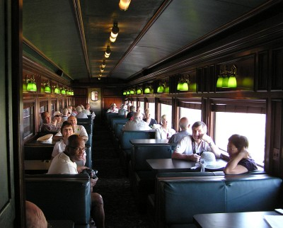 Image result for interior photos of panama canal railway cars