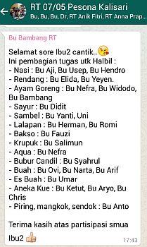 Halal Bihalal Gotong Royong Dewipuspasari S Weblog
