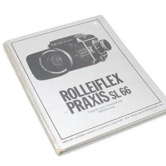 """Boek over Rollei: """"Rolleiflex Praxis SL66"""" kopen"""