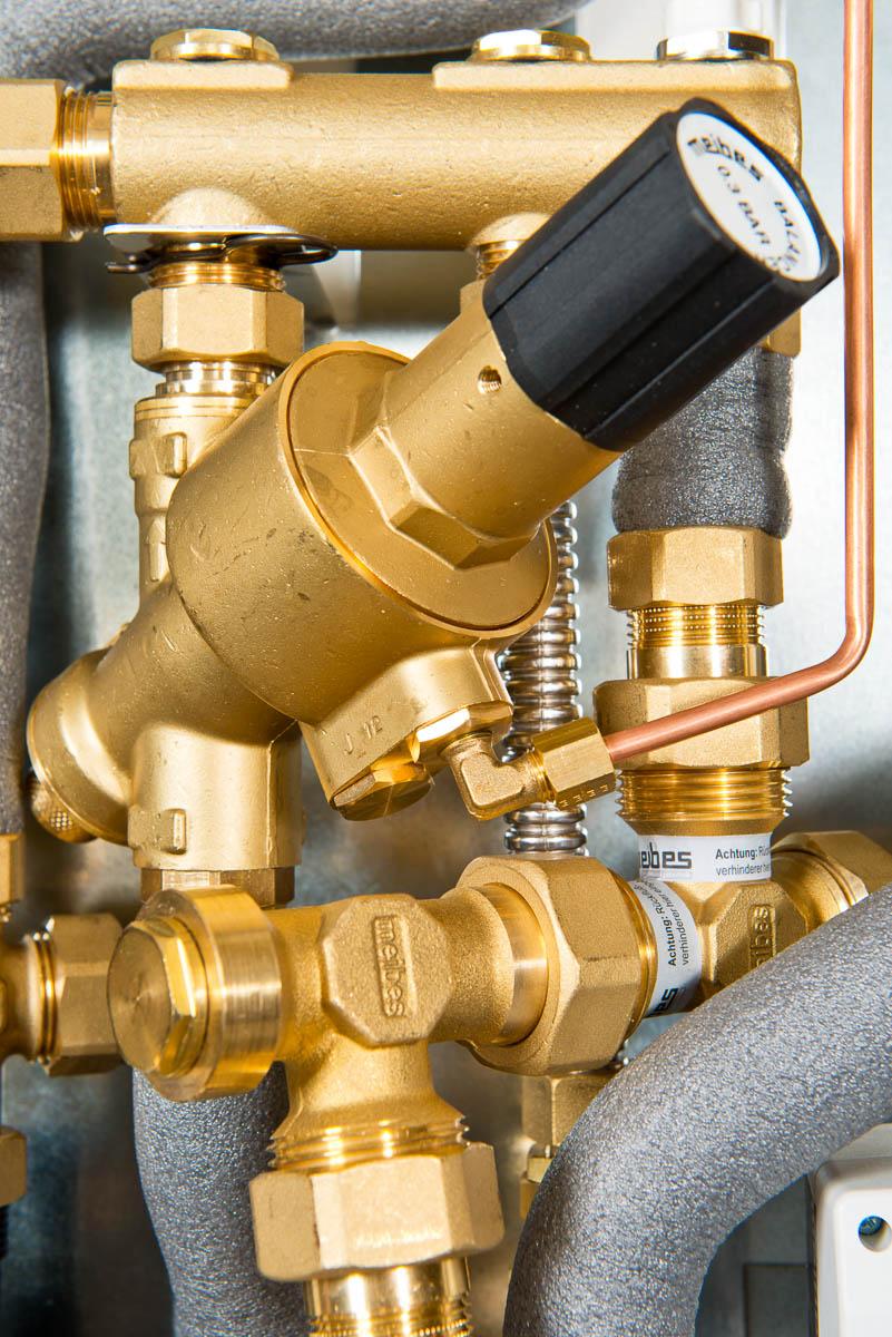 Afsluiters, leidingen en kleppen in een HVAC installatie