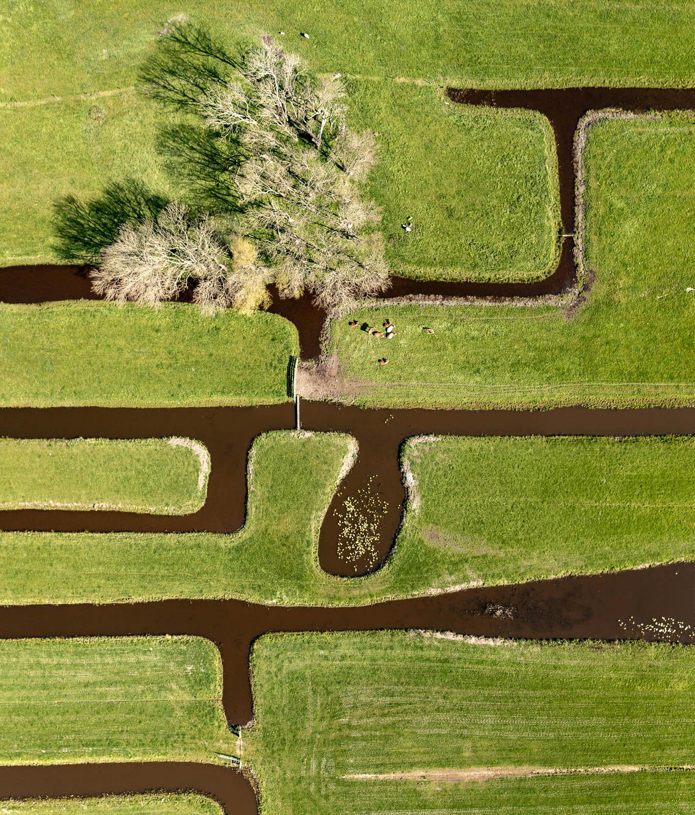 Worcflow Drone Fotografie. Beeld van bovenaf