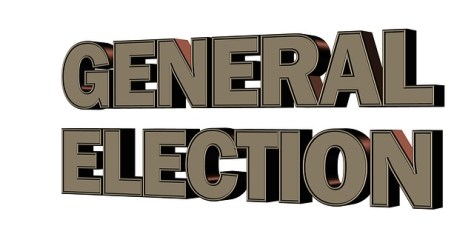 General election sign