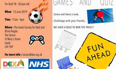 DEX 18-30 Games and Quiz Event