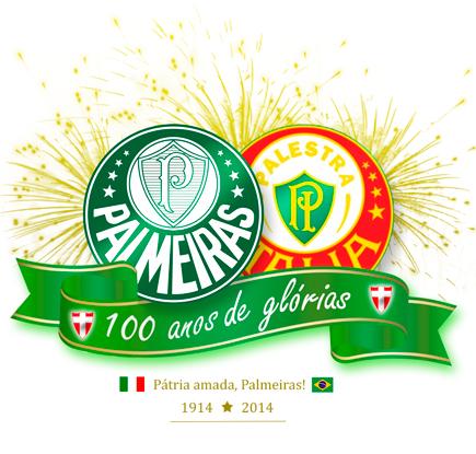 Palmeiras - 100 anos de Glorias