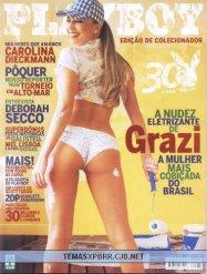 Grazi Massafera Playboy Agosto 2005