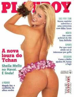 Sheila Mello Playboy novembro 1998