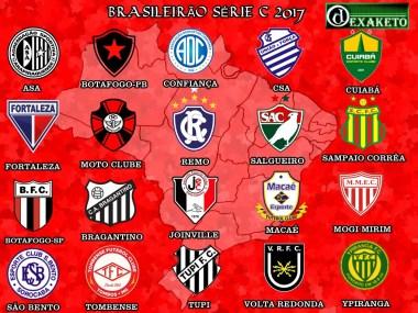 Clubes da Série C 2017