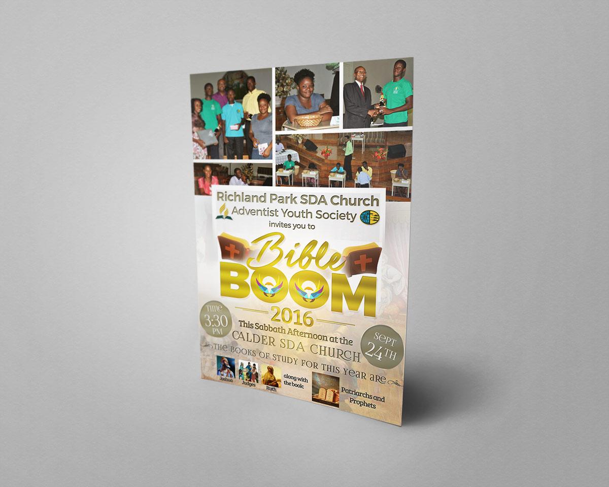 SDA Bible Boom Flyer Design – DexCorp