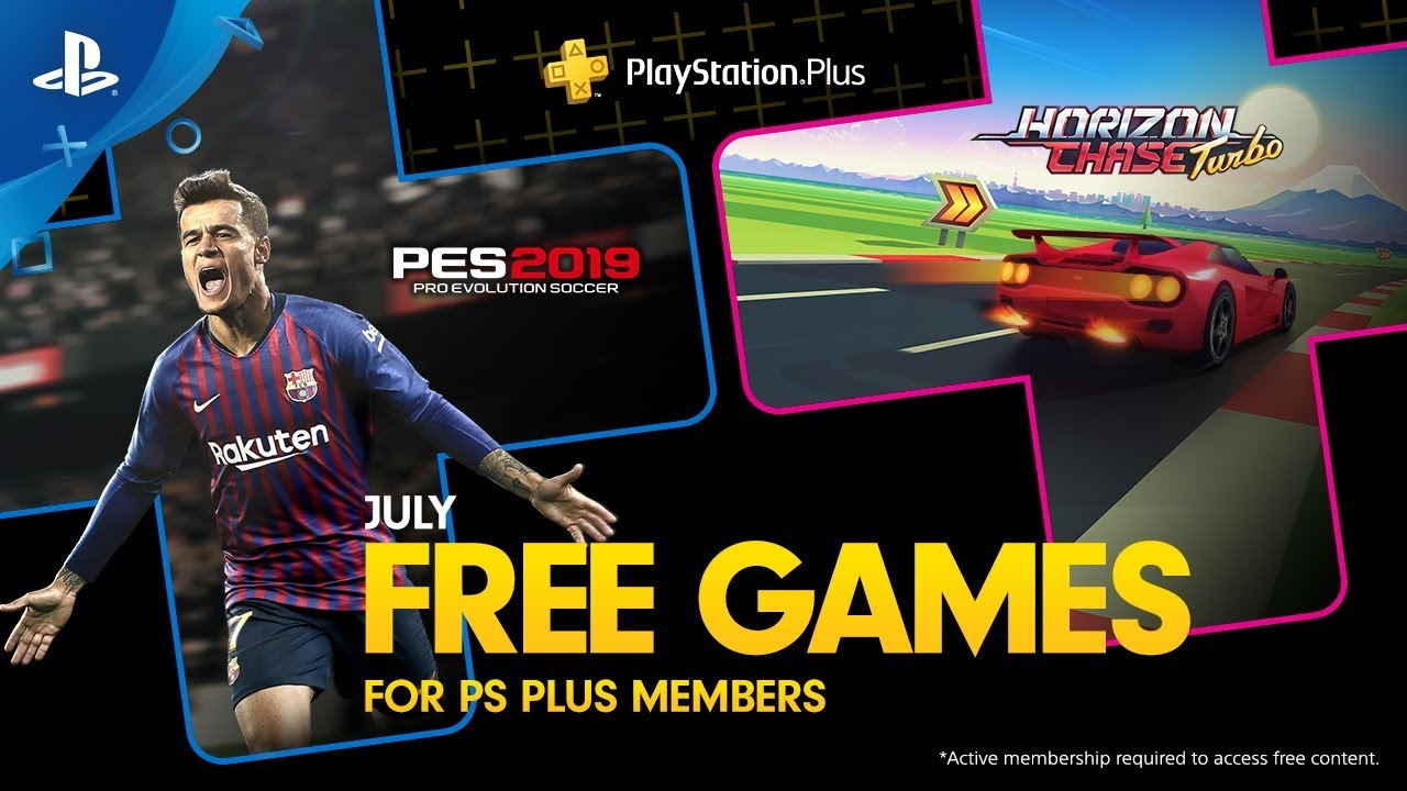 PlayStation Plus July header