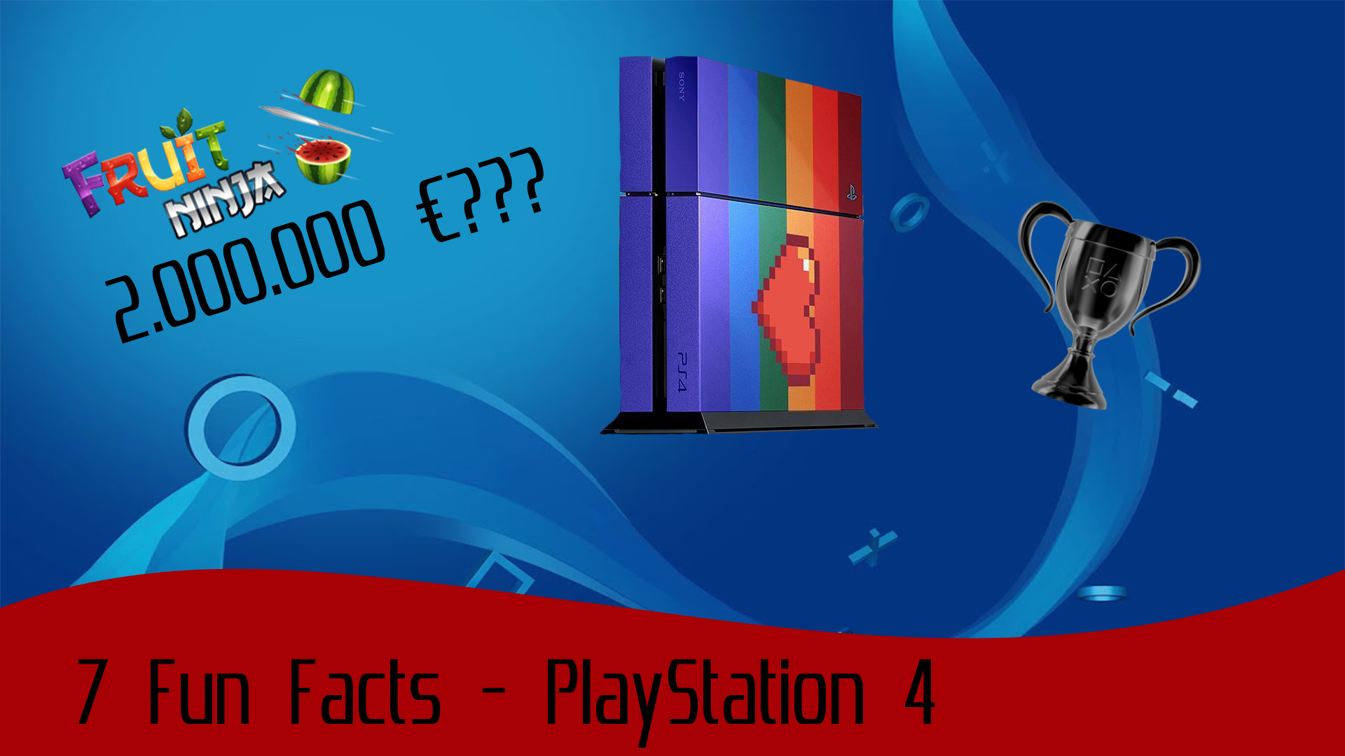 7 Fun Facts about the PlayStation 4
