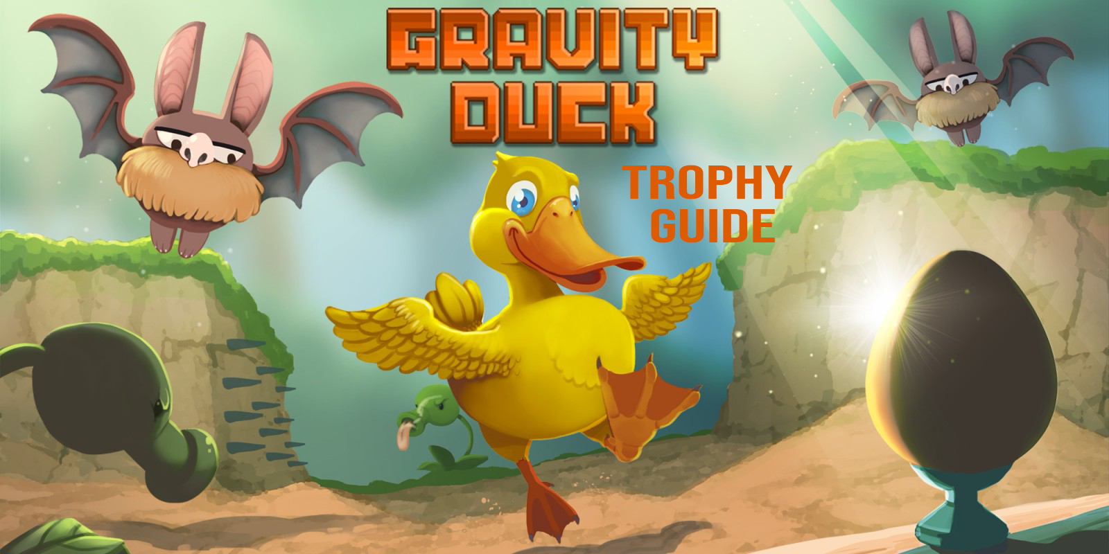 Gravity Duck Trophy Guide
