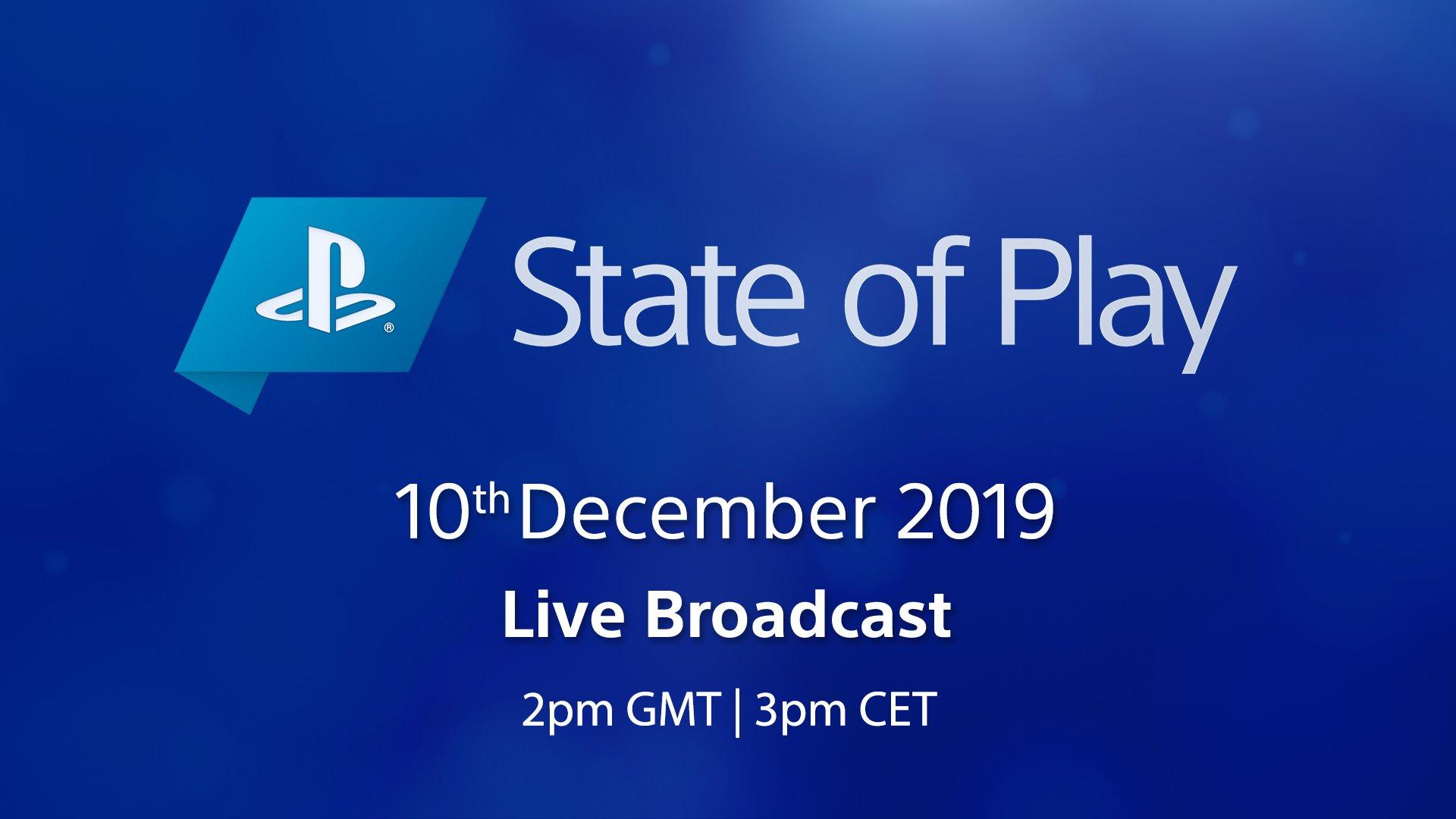 PlayStation State of Play Announced for December 10