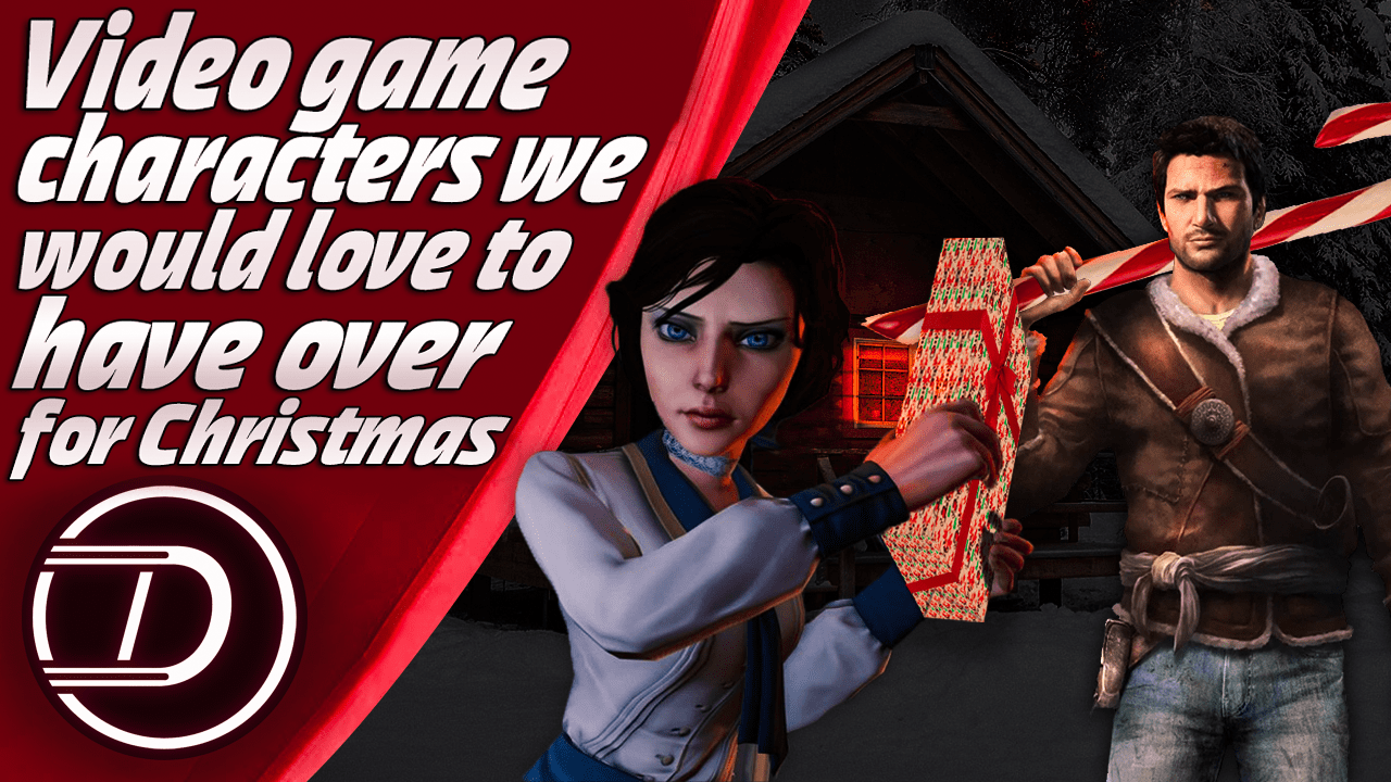Video game characters we would love to have over for Christmas