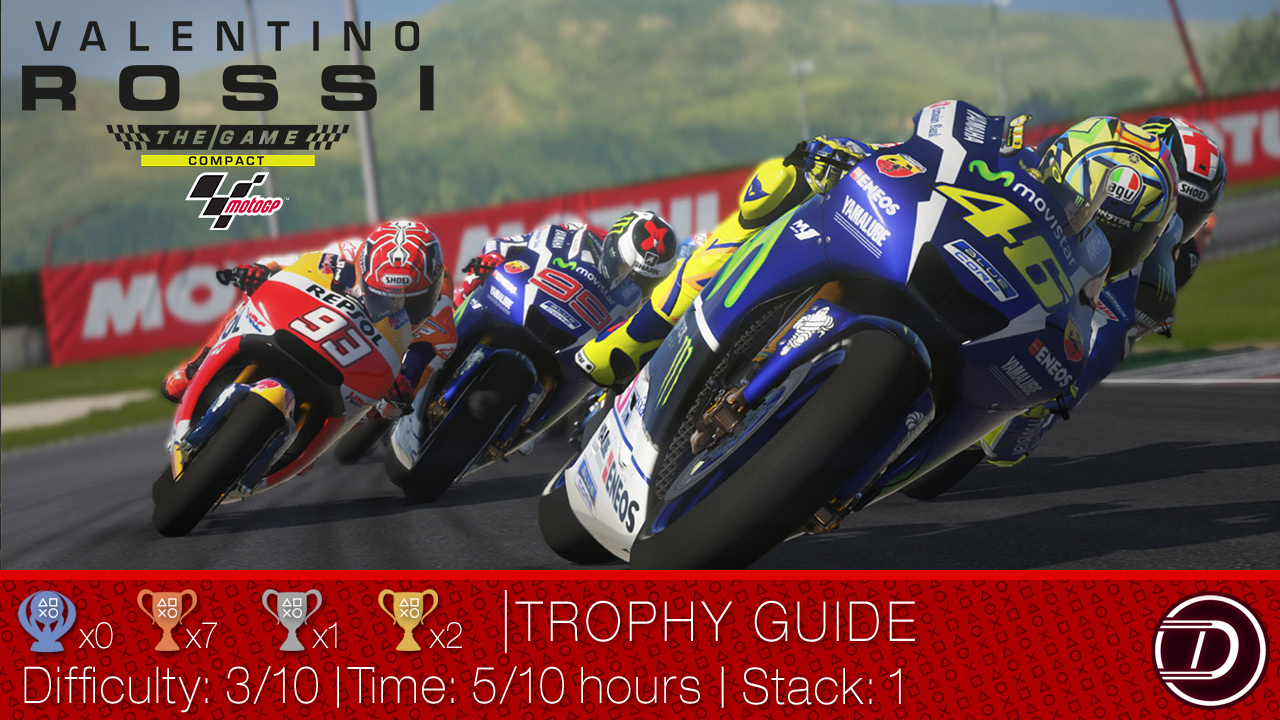 Valentino Rossi The Game Compact Trophy Guide
