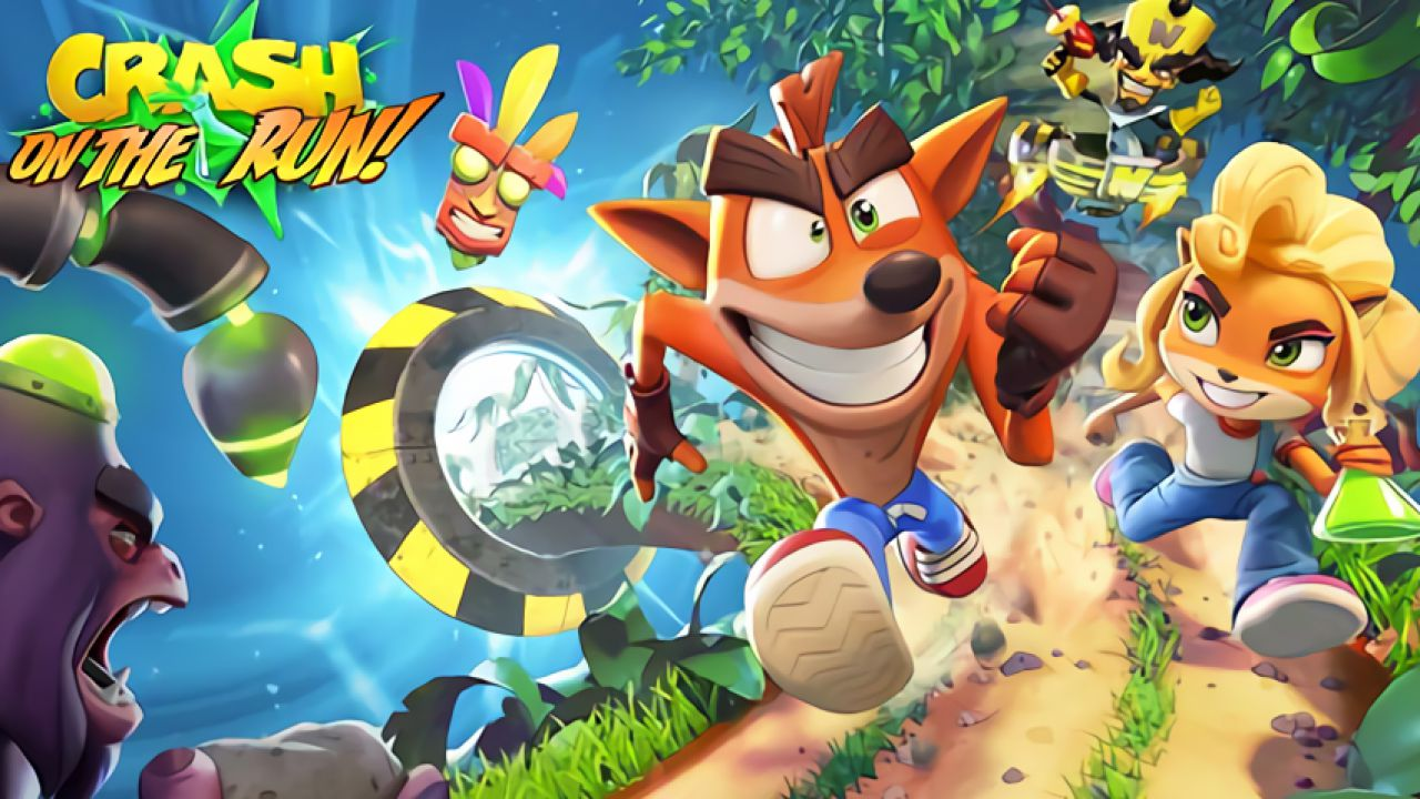 Crash Bandicoot On the Run! Announced