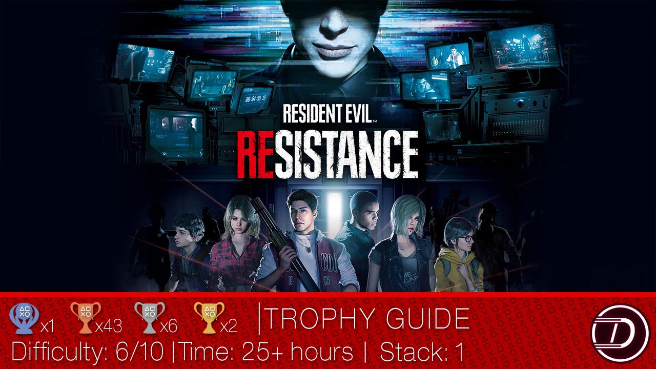 Resident Evil Resistance Trophy Guide