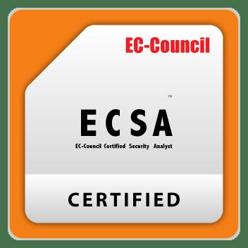 ECSA-Council certificate badge