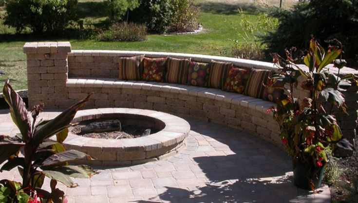 Best Backyard Fire Pits Ideas With Seating