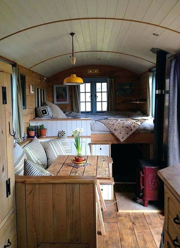 Farmhouse Interior for RV Campers
